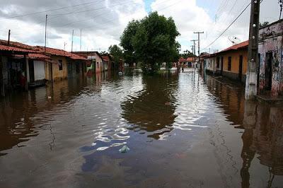 Fotos da enchente em Bacabal