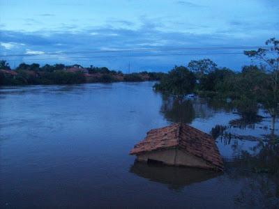 Enchente em Bacabal