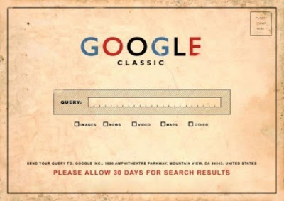 Google antes da web