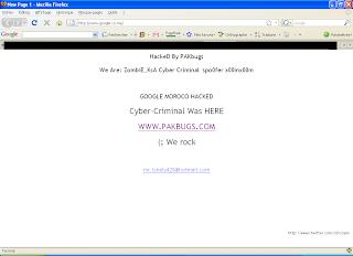 Google foi sequestrado no Marrocos