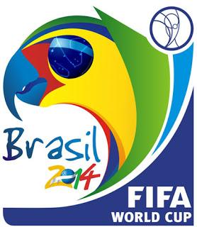 Logomarca da Copa Do Mundo de  futebol no Brasil em 2014