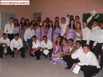 CEFFA Manoel Monteiro forma turma 2009 de Técnicos em Agropecuária