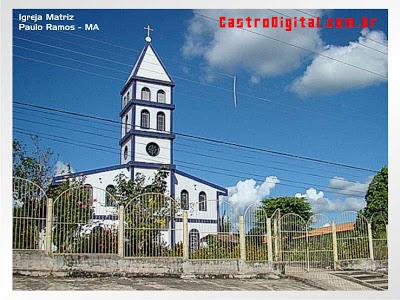 Igreja Matriz - Paulo Ramos - MA