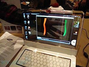 Samsung cria notebook transparente