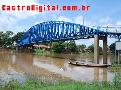 IMAGEM - ponte metalica no Rio Mearim - Bacabal