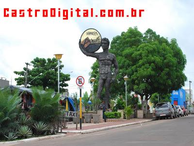 IMAGEM - Praça Silva Neto / pParaiba - Bacabal