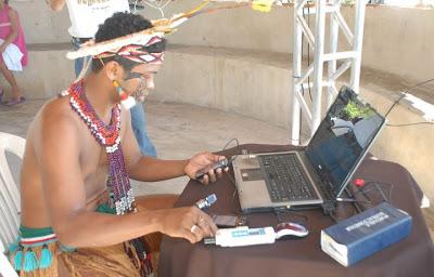 Pescadores usam rede 3G na Bahia