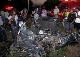 Acidente na BR-135 faz 6 vítimas, 2 de Bacabal