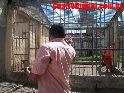 IMAGEM - Foto do 1º Distrito Policial de Bacabal - MA em péssimo estado