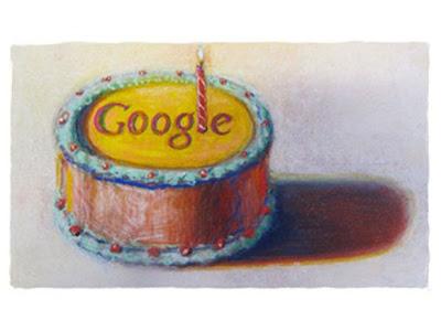 Google faz aniversário de 12 anos
