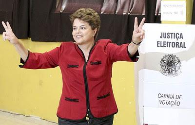 Dilma é a 1º mulher presidente do Brasil