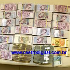 PF apreende dinheiro de Lago Verde – MA sacado irregularmente das contas da Prefeitura