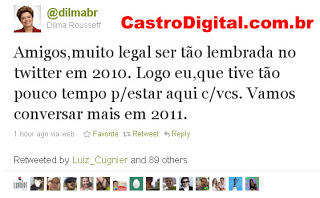 Termos mais citados no Twitter em 2010