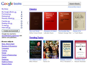 Lançamento do Google eBooks, a livraria digital do Google