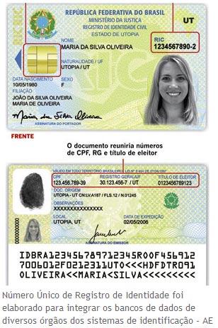Nova carteira de identidade brasileira é lançada oficialmente