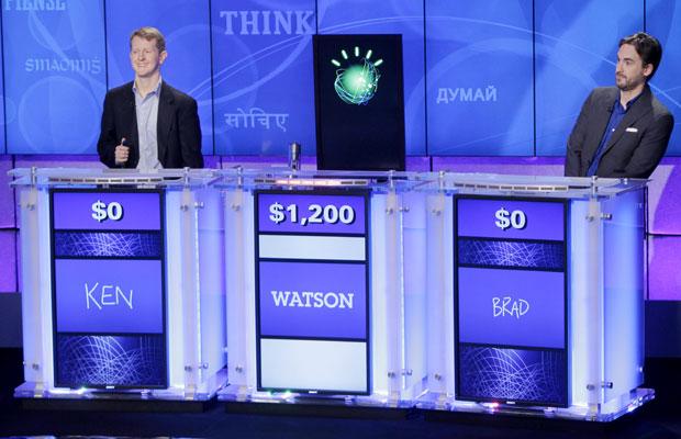 Computador vence humanos em jogo na TV de perguntas e respostas
