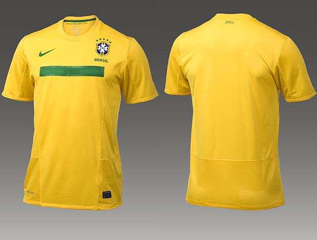 Nova camisa da Seleção Brasileira de Futebol