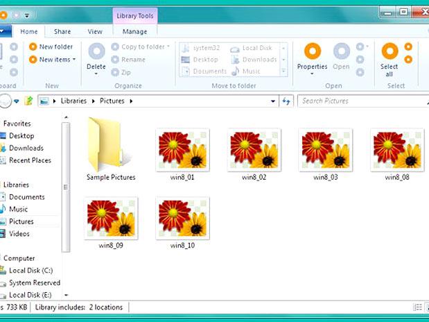 IMAGEM - Imagens do Windows 8 que vazaram na internet