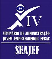 Alunos de Administração da FEBAC convidam para o IV SEAJEF