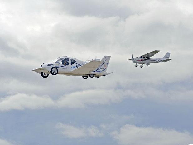 EUA libera carro voador para uso em vias públicas
