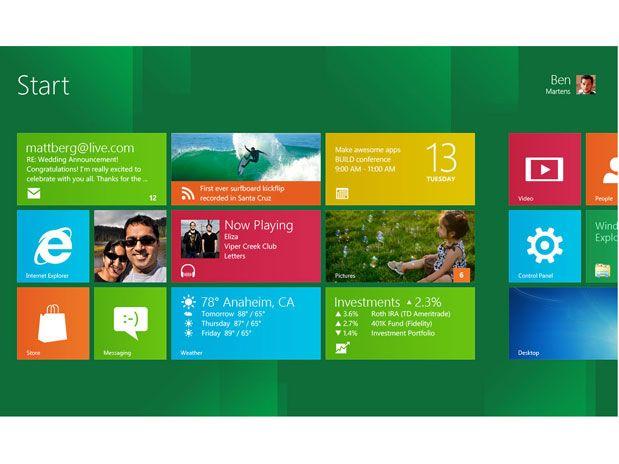 Versão pré-beta do Windows 8 está disponível de graça