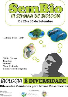 Fotos da semana de Biologia 2011 do CESB-UEMA