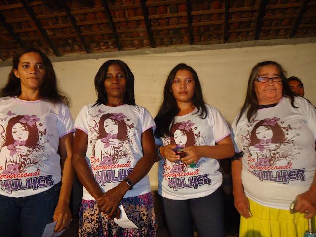 Dia internacional da mulher 2012 em Lago Verde – MA