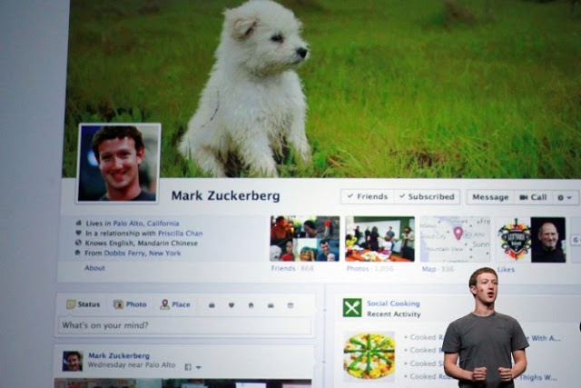Timeline do Facebook está ativa em todos os perfis