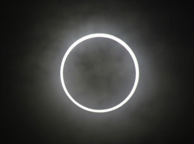 Eclipse anular do sol no Japão