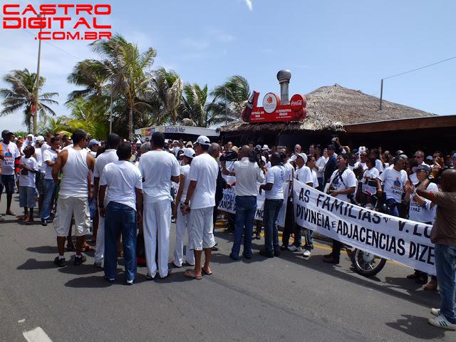 IMAGEM - Passeata contra assassinato do jornalista e blogueiro Décio Sá