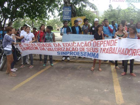 No Maranhão, alunos são detidos em protesto por falta de professores na rede estadual