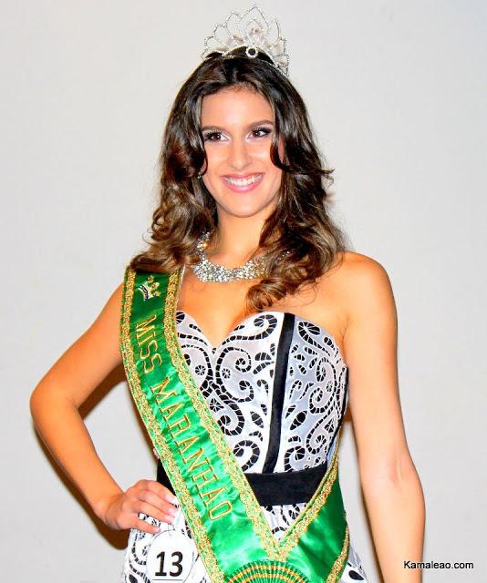 Fotos de Juliana Cavalcante, Miss Maranhão 2012