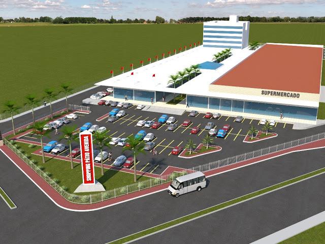Bacabal terá shopping com cinema e mais de 60 lojas