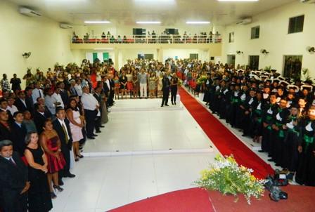 CESB/UEMA realiza formatura de 110 alunos em 2012.2