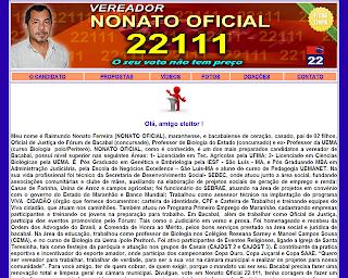 Em Bacabal, apenas um candidato a vereador tem site para campanha das Eleições 2012