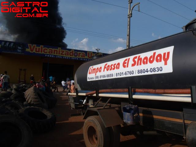 Incêndio em Bacabal é apagado com ajuda de limpa-fossa pela segunda vez – Veja fotos