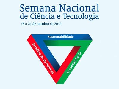 Programação para Bacabal da Semana Nacional de Ciência e Tecnologia 2012