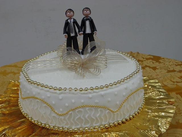 Foto do primeiro casamento homoafetivo (gay) de Bacabal
