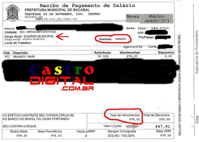 Guardas municipais de Bacabal – MA denunciam descaso da administração de Zé Alberto, Lisboa e dos vereadores