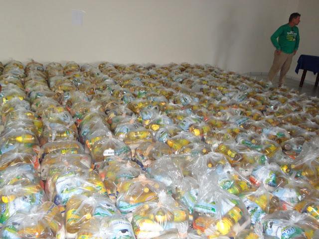 Comunidades Quilombolas de Bacabal recebem 14 toneladas de alimentos do Governo Federal