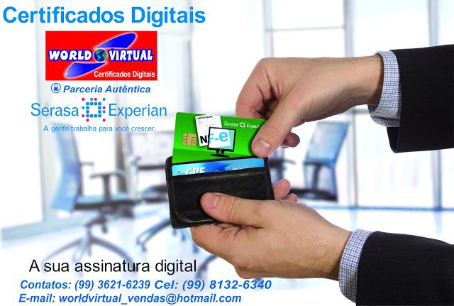 Parceria entre World Virtual e Serasa Experian facilita acesso à certificação digital em Bacabal – MA e região