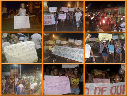 1º Manifestação Vem Pra Rua em São Luis Gonzaga do MA é realizada com sucesso