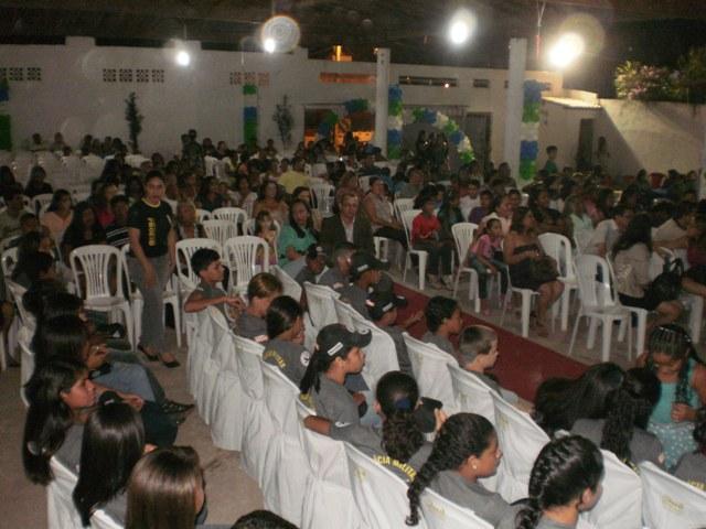 PROERD realiza formatura de alunos do CRAS II em Bacabal