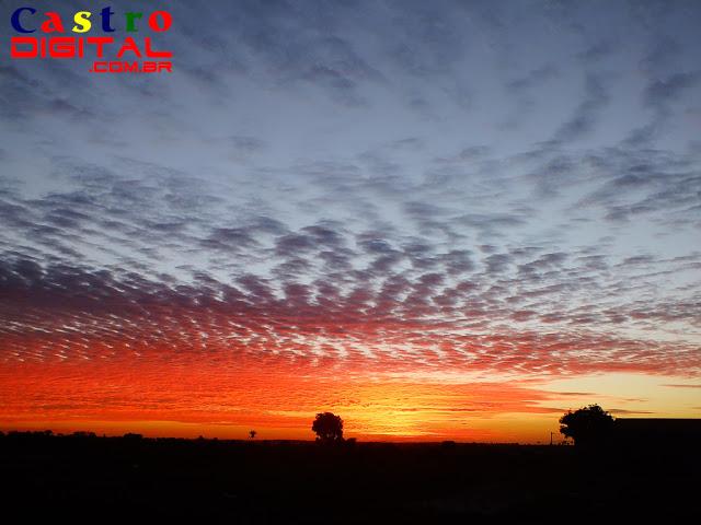 Fotos do pôr do sol na cidade de Bacabal – MA em 12 de julho de 2013