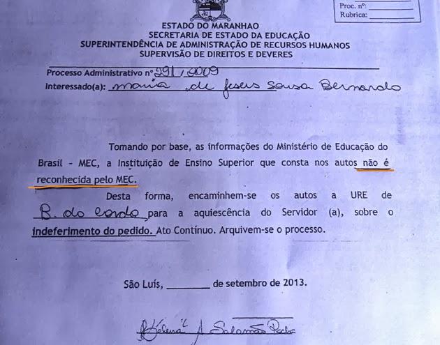 Seduc-MA diz que UEMA não é reconhecida pelo MEC: incompetência ou perseguição aos professores?
