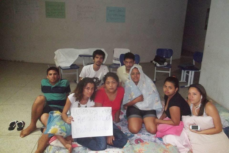 Carta dos estudantes da UFMA de Bacabal que estão ocupando o campus e reivindicando melhorias na estrutura da instituição