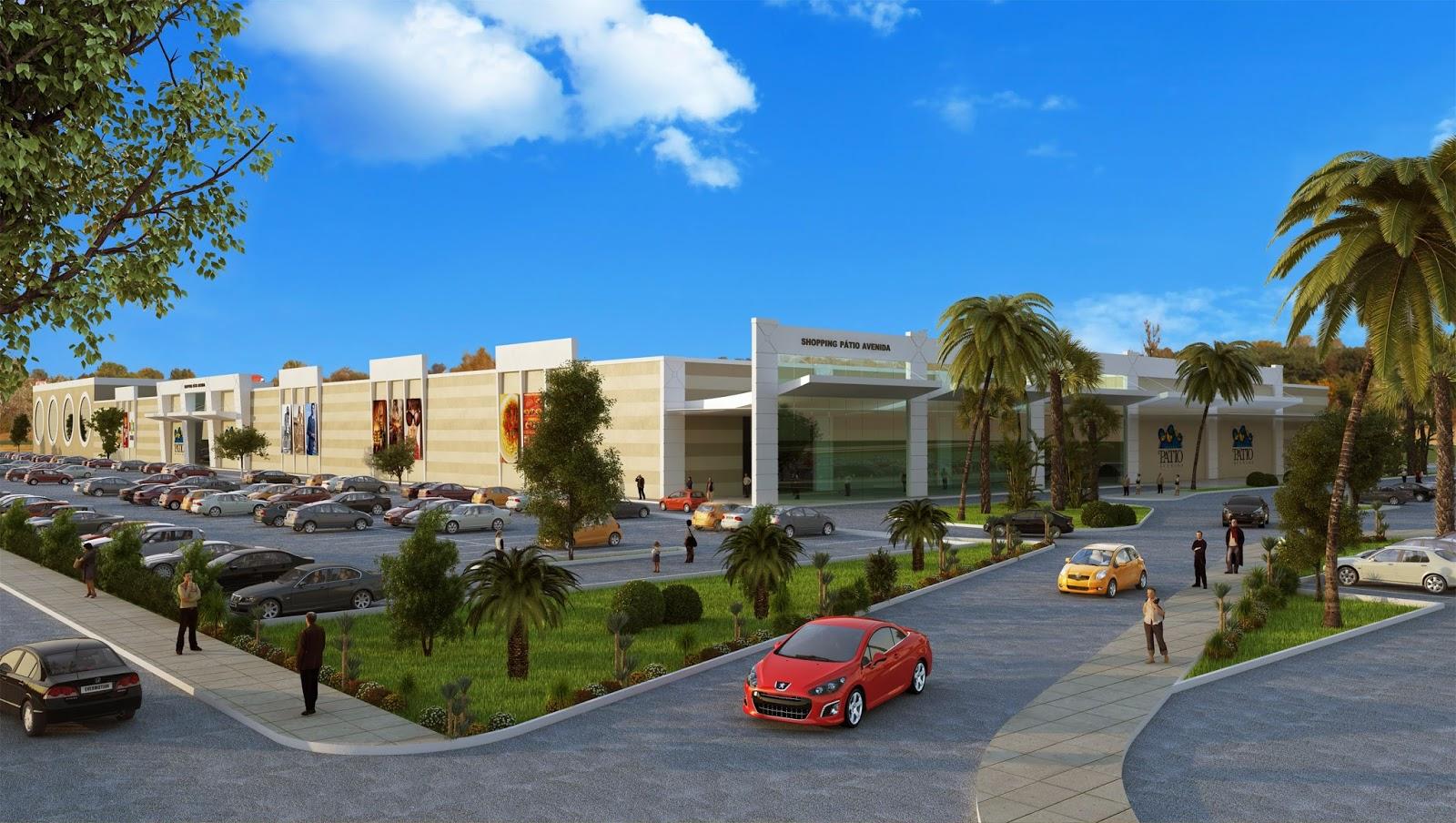 Lançada em Bacabal a construção do Shopping Pátio Avenida com mais de 100 lojas, incluindo cinema