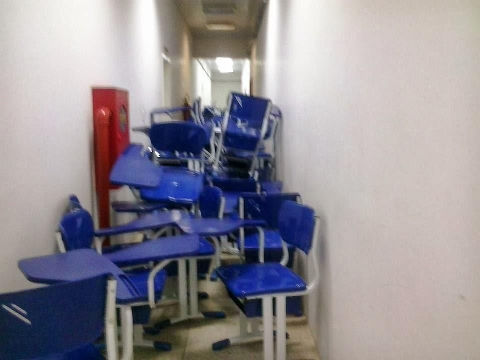 Estudantes da UFMA de Bacabal realizam greve por melhor estrutura no campus