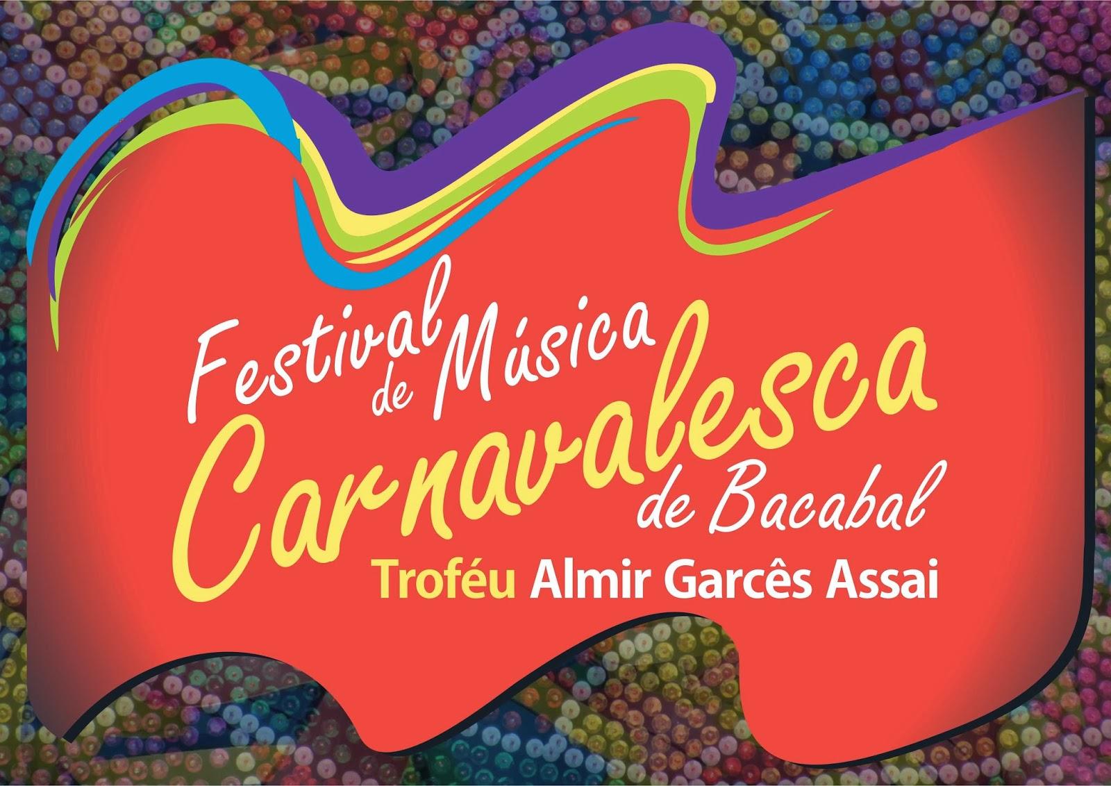 Inscrições para o Festival 2014 de Música Carnavalesca de Bacabal com premiação total de R$ 11 mil