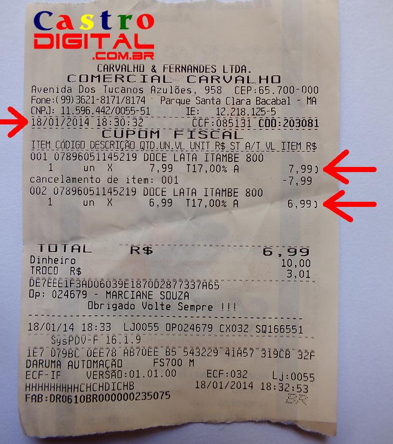 Quase fui roubado no Supermercado Carvalho de Bacabal – MA: um alerta para os consumidores